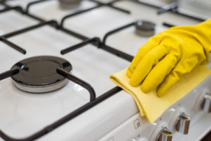 تنظيف الطباخ